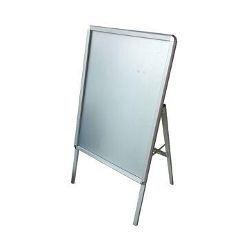 Chevalet aluminium extérieur simple face de dimensions 120 cm x 65 cm