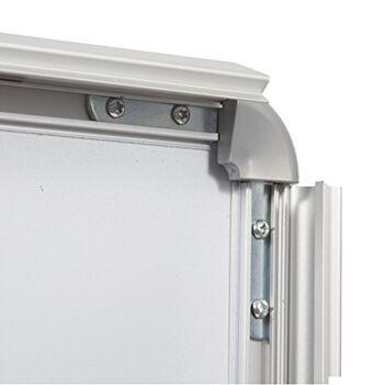 Chevalet aluminium extérieur double face de dimensions 120 cm x 65 cm